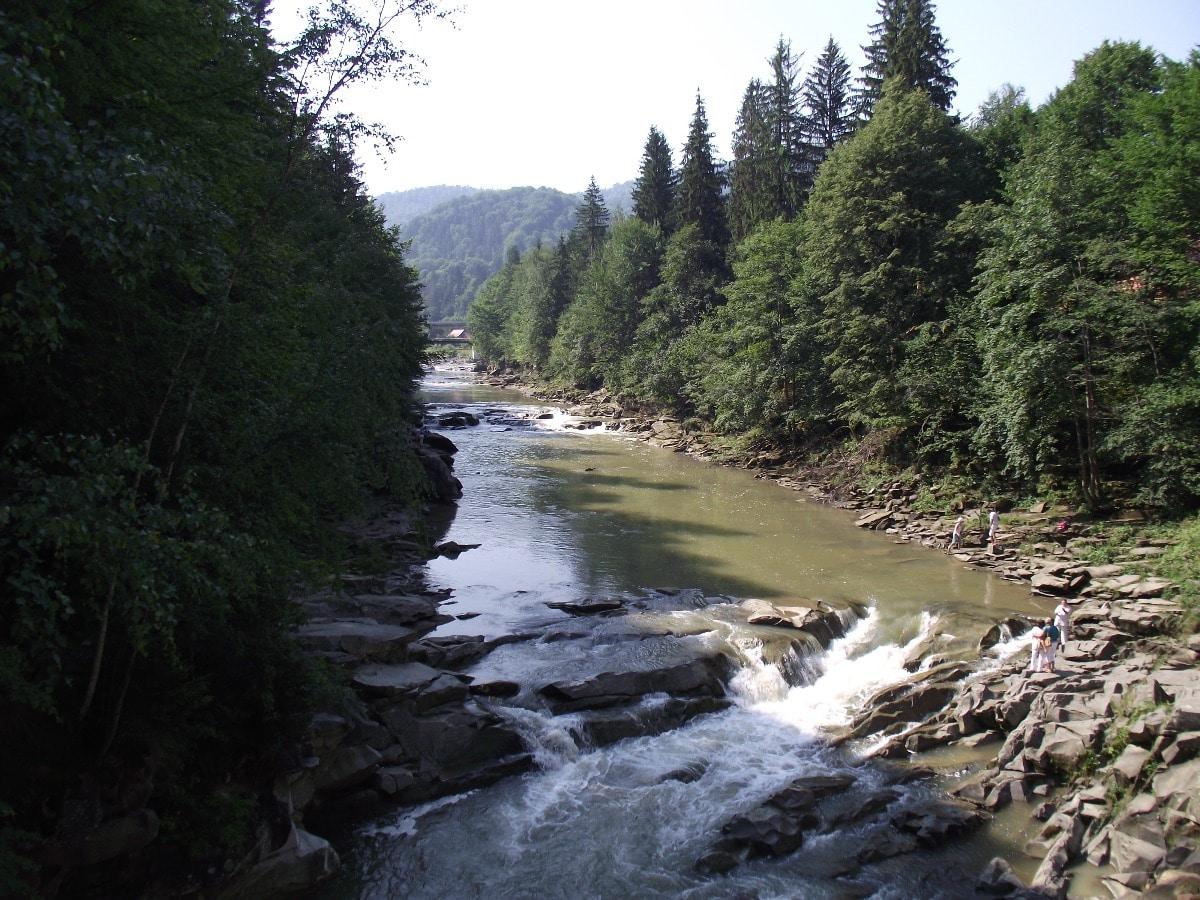 Prut river near Yaremche