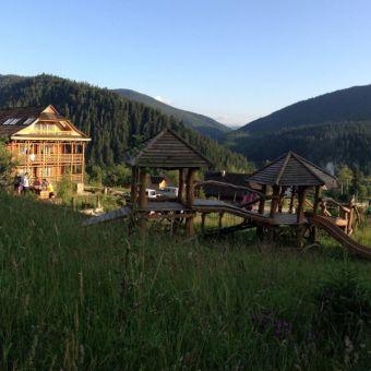 Пейзажи Карпат - отель Коруна
