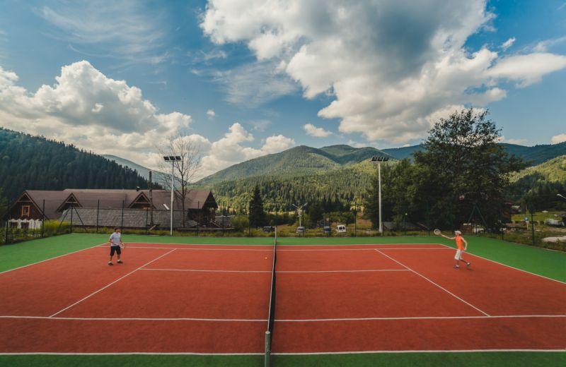Теннисный корт - Отель «Коруна»
