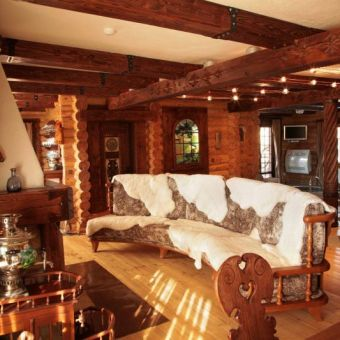 Баня в Карпатах - отель Коруна