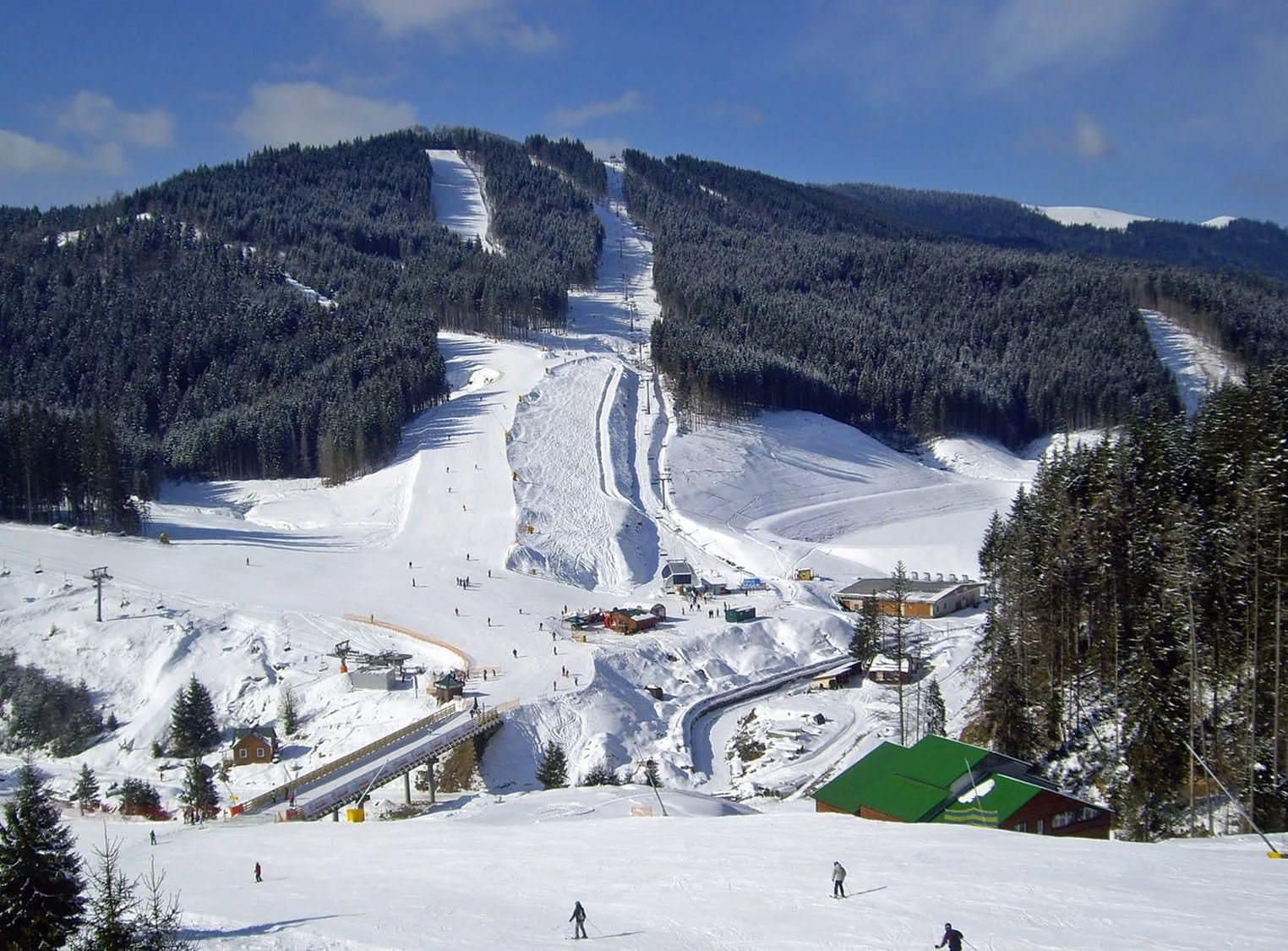 Лыжные трассы в Буковеле