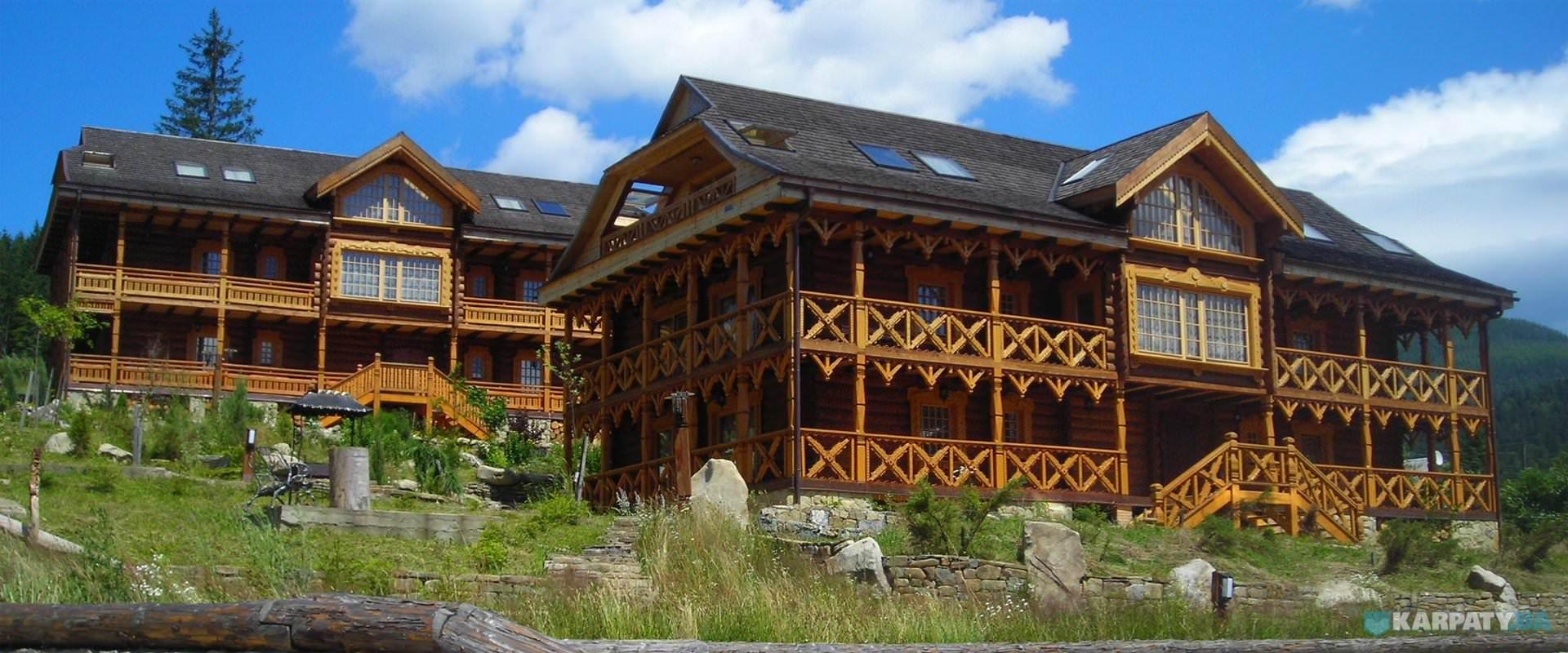 отель коруна в горах карпат