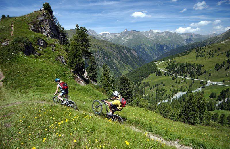 Велопрогулки в горах