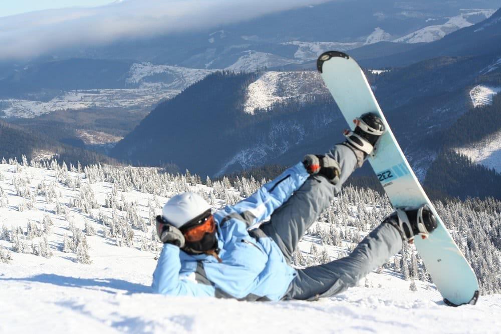 Сноубординг – активный отдых в Карпатах
