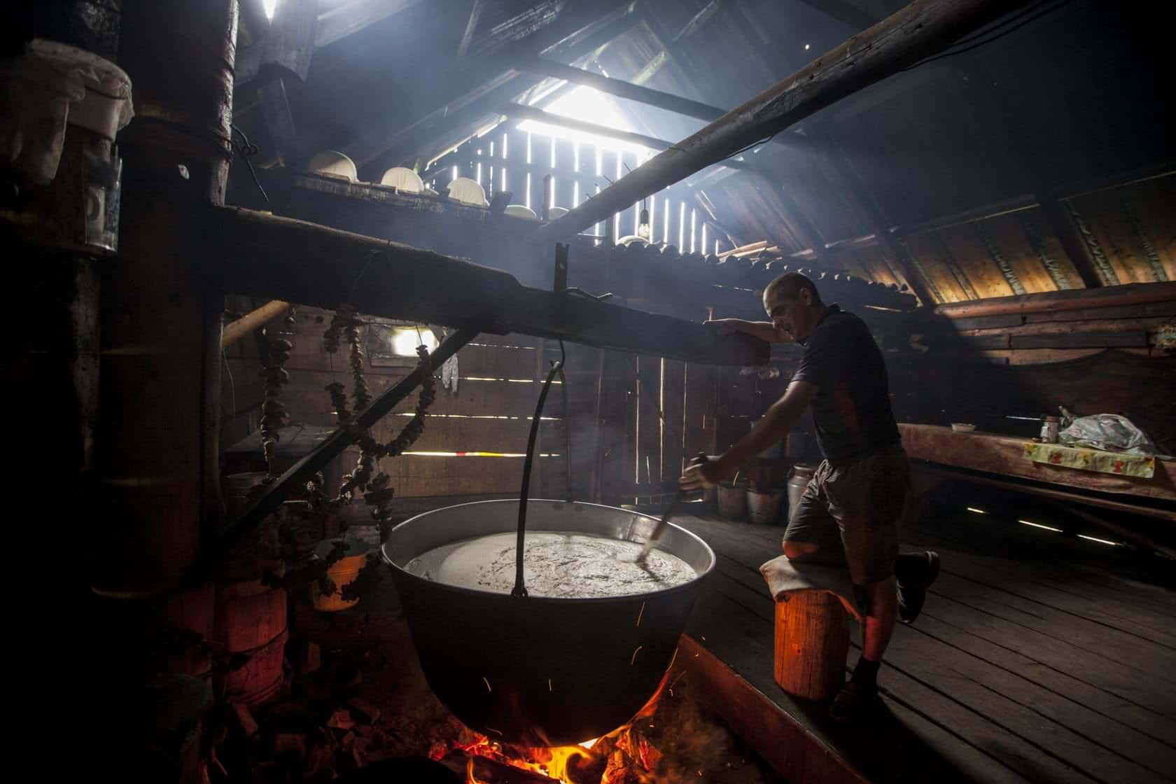 Сыроварение в Карпатах