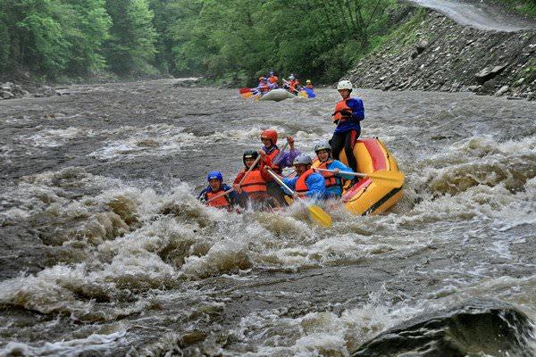 Рафтинг по реке Прут