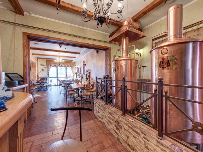 Карпатская пивоварня-ресторан