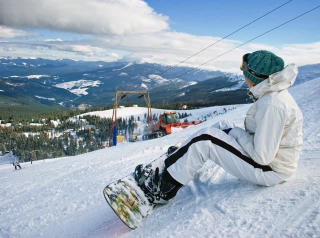 Лыжная трасса в Драгобрате