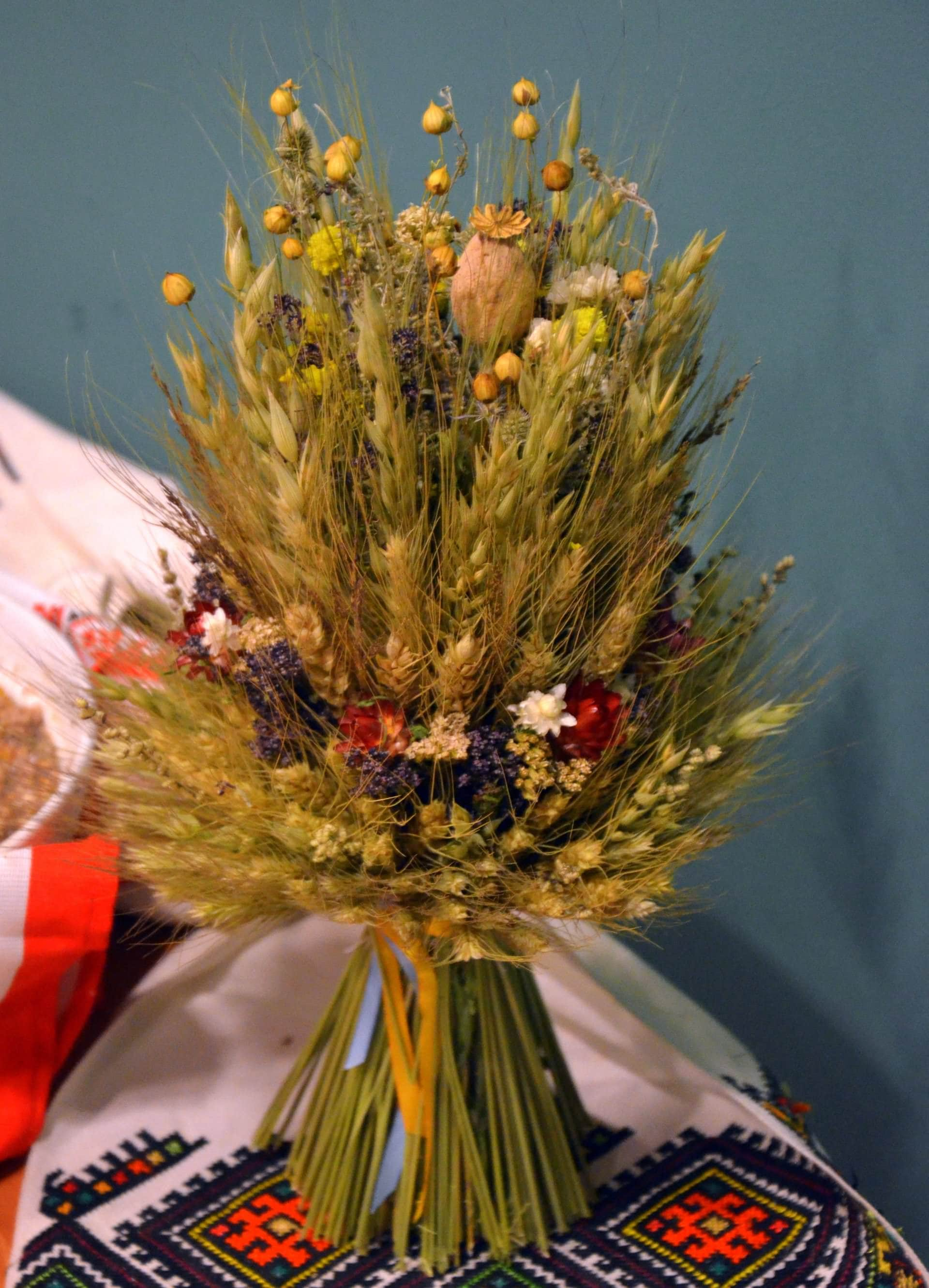 Традиционный гуцульский Дидух