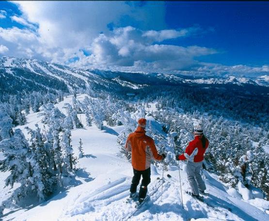 Восхитительный карпатский пейзаж зимой