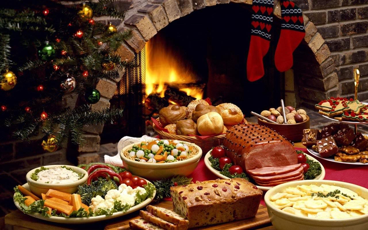 Рождественское застолье