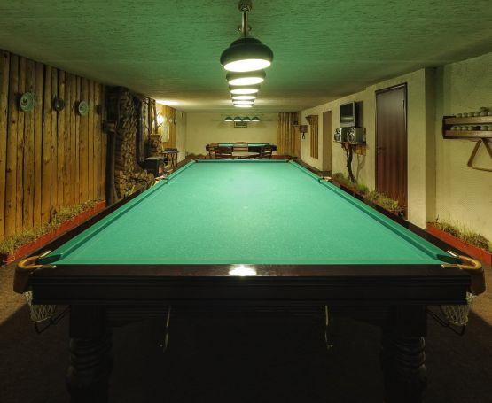 Бильярд - Отель «Коруна»