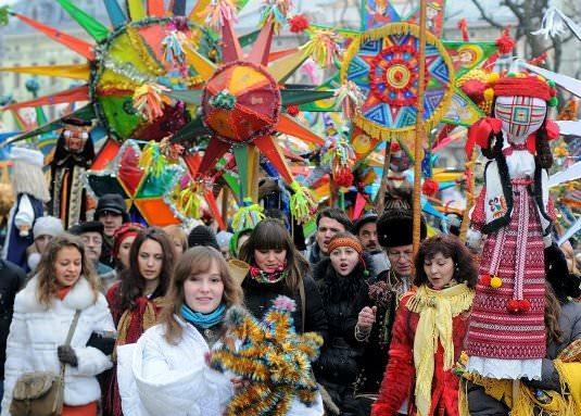 Зимние фестивали Карпат