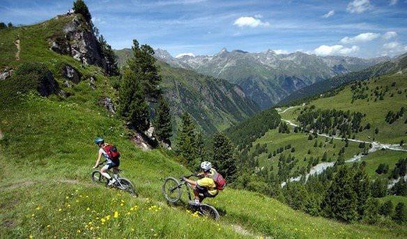 В горы на велосипедах