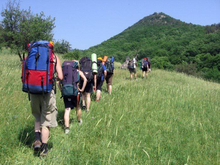 Пешеходный туризм в горах