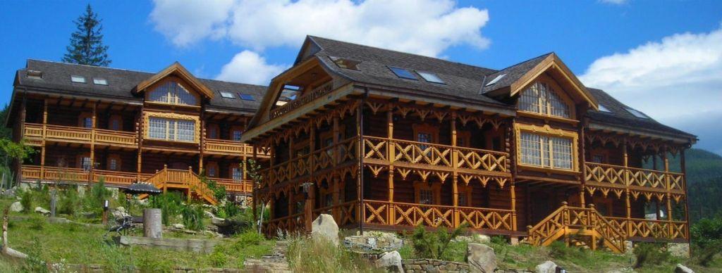 Коттеджи в отеле Коруна