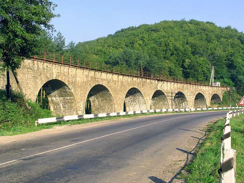 Виадук в Ворохте