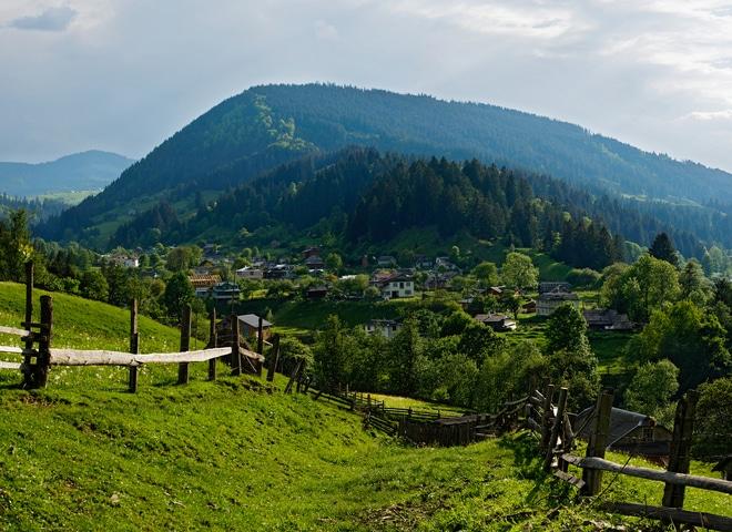 Колорит и красота карпатских поселений