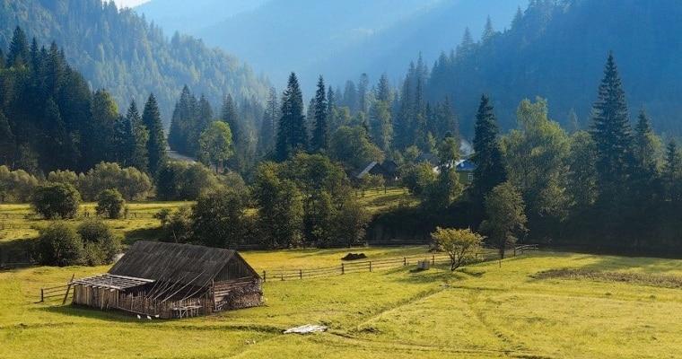 Горы – идеальное место для экотуризма