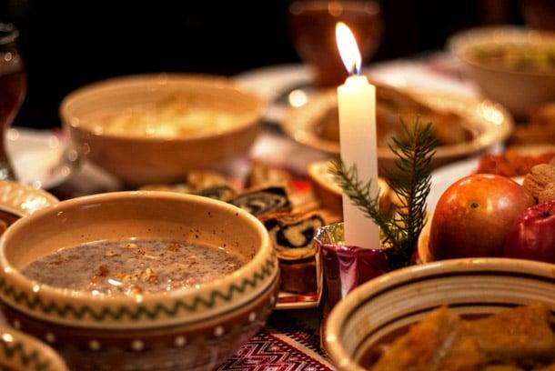 Рождественские гуцульские блюда