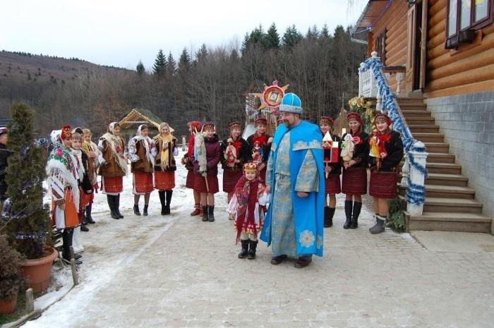 День Святого Николая в Карпатах