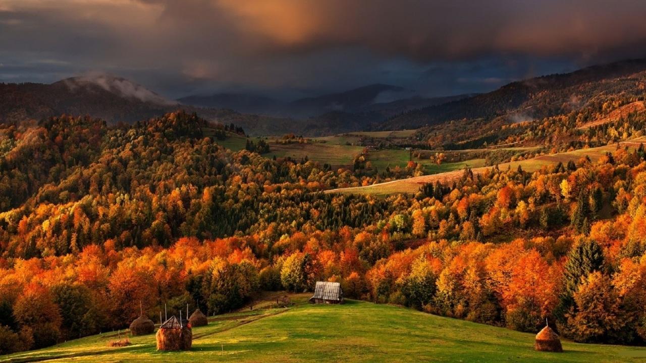 Осень в Карпатских горах