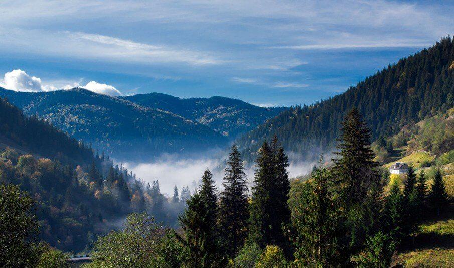 Климат Карпатских гор