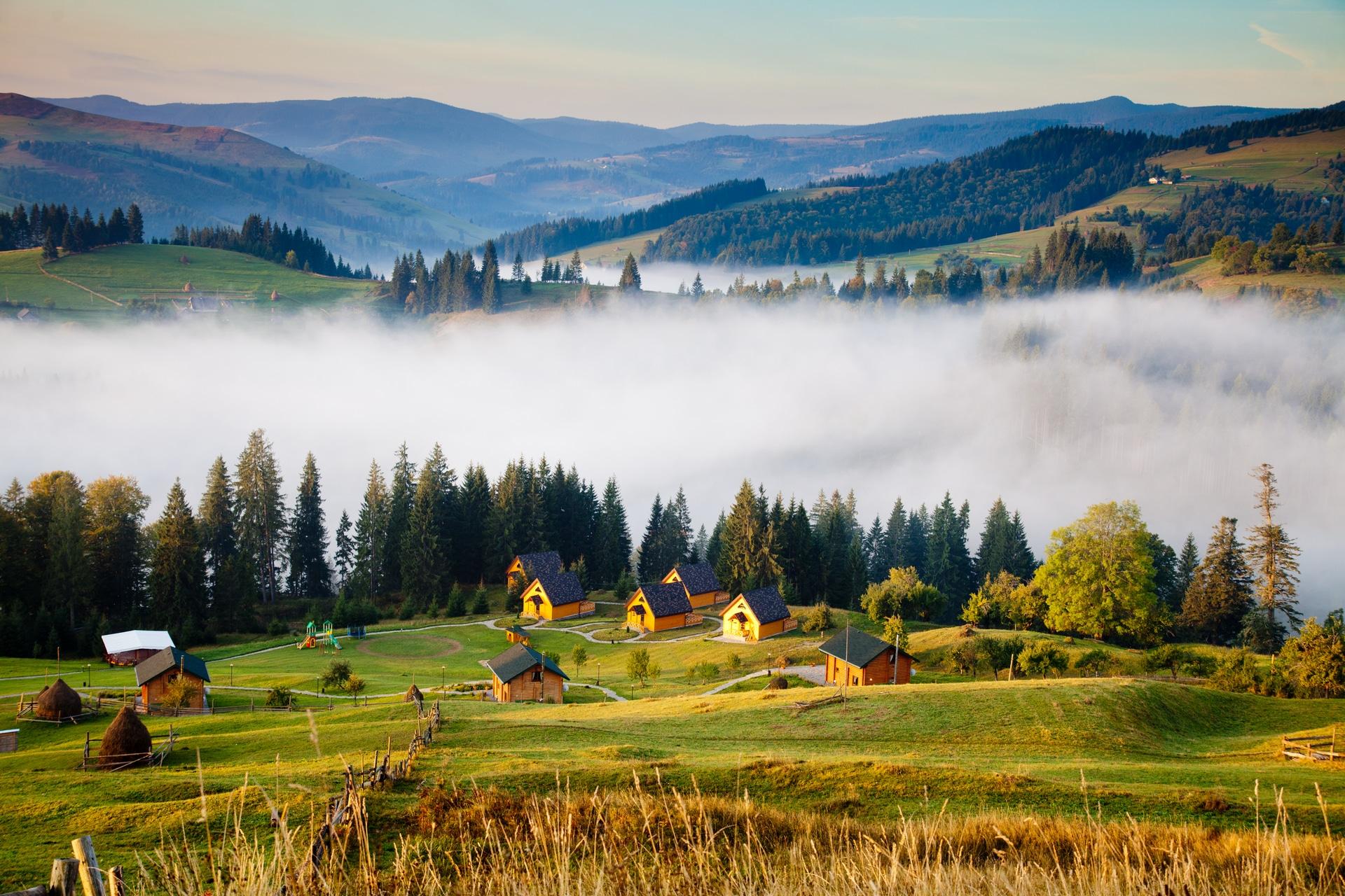 Погода в горах Карпат весной