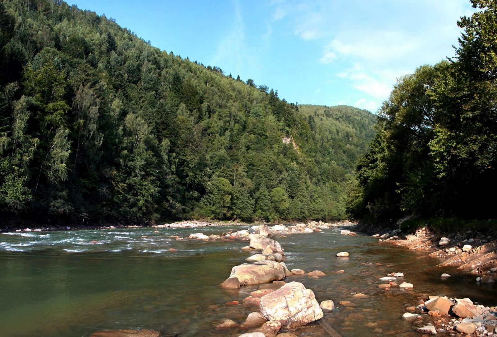 Реки Карпатских гор