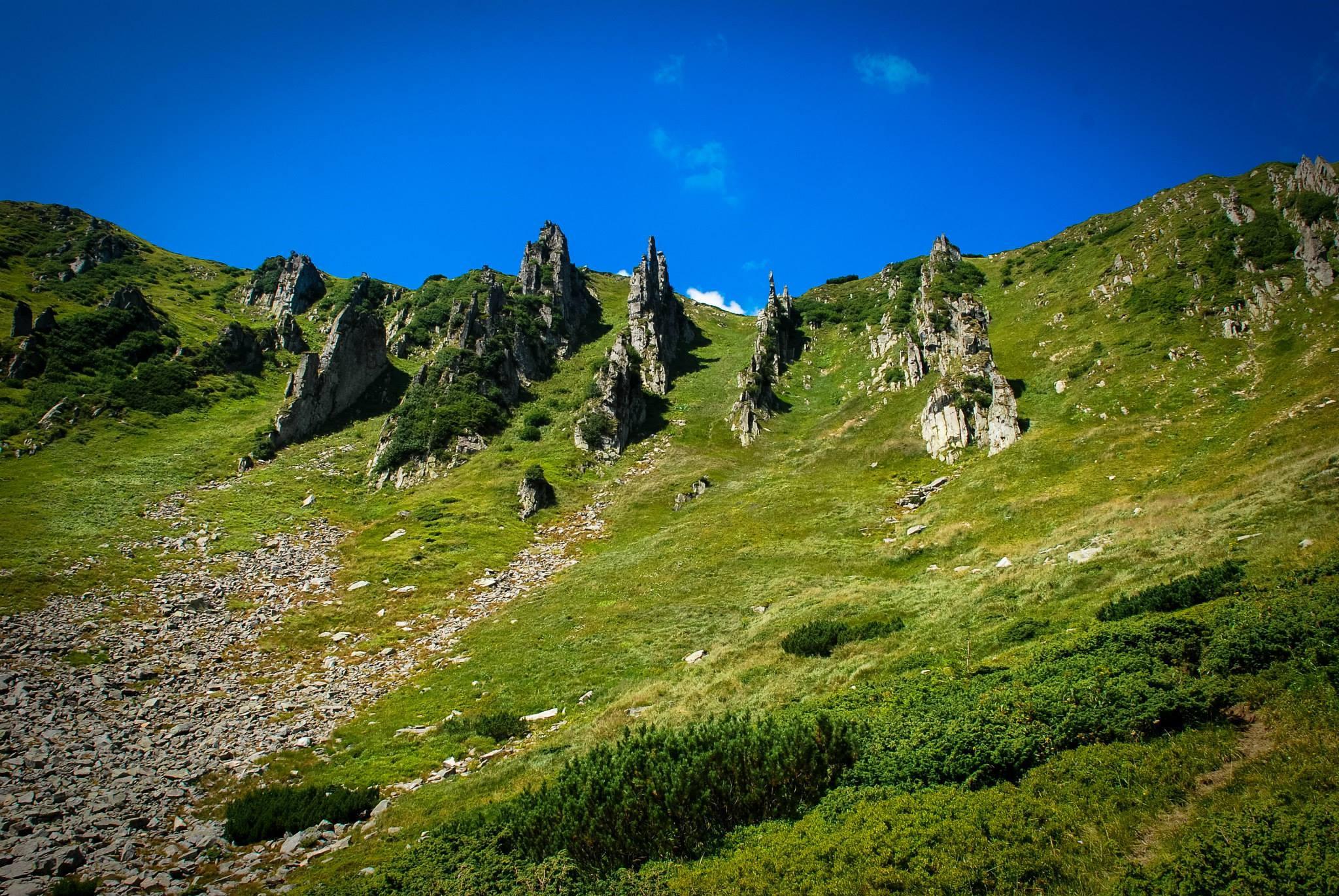 Массив Черногора, гора Шпицы