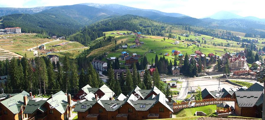 Буковель – один из самых масштабных курортов страны