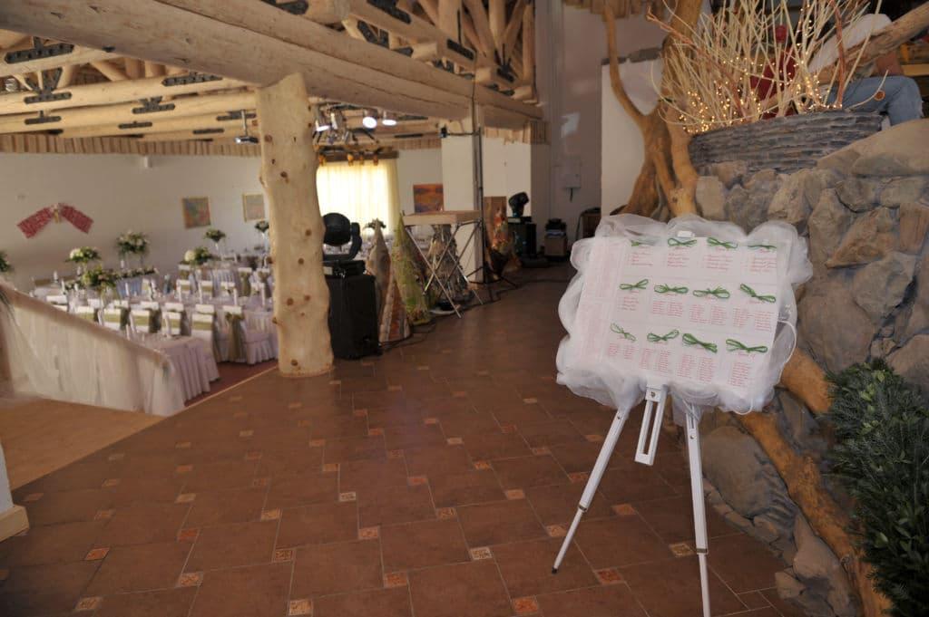Зал для свадьбы в отеле Коруна