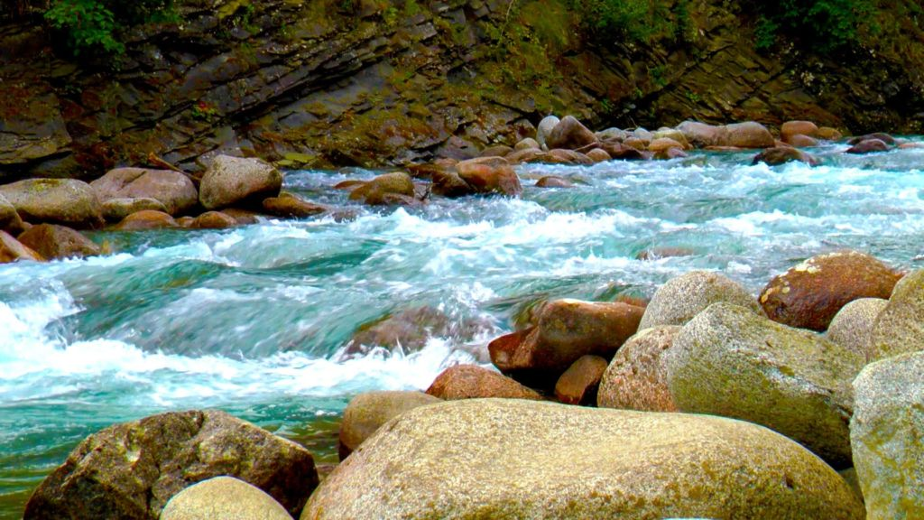 Горная река в Карптах