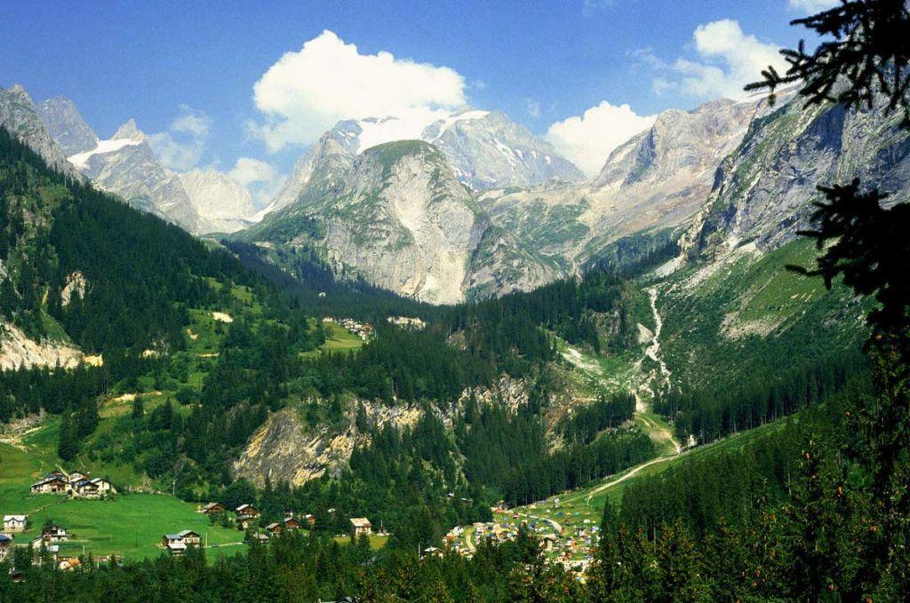 Живописные горы Карпат