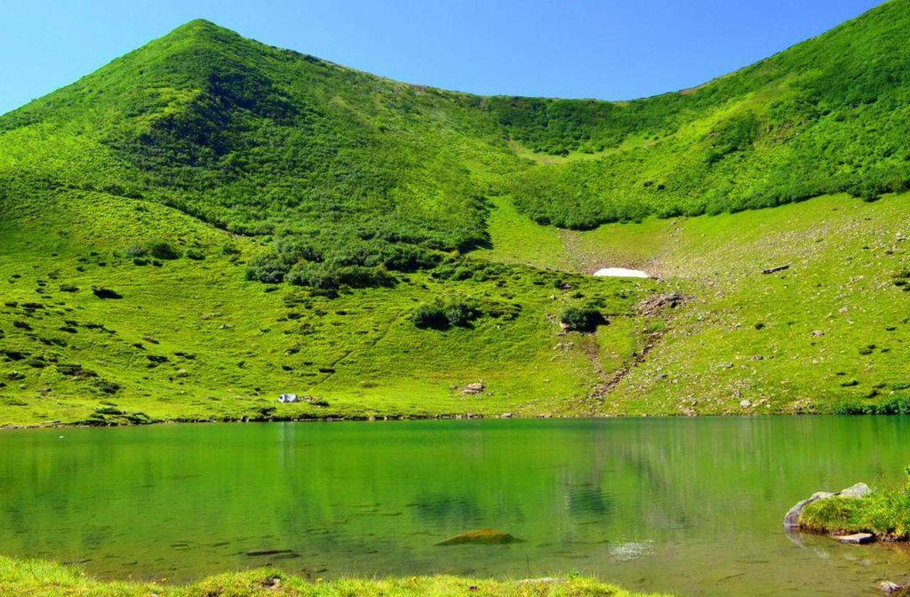 Озеро Вороже́ска