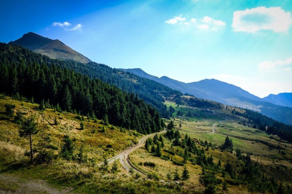 Горы возле Татарова