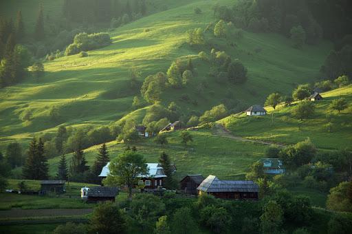 Пейзажи Карпат